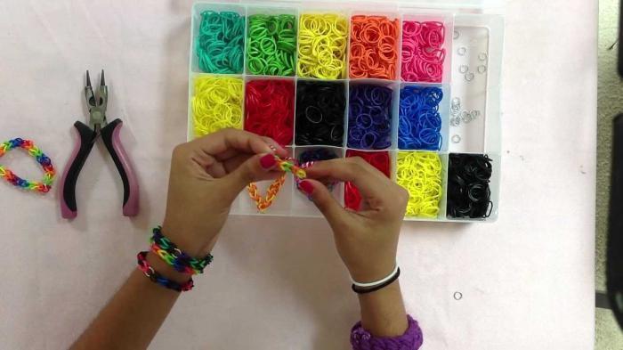 браслеты своими руками схемы