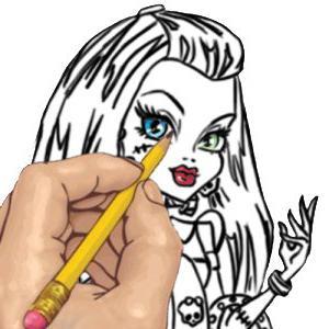 как нарисовать монстра