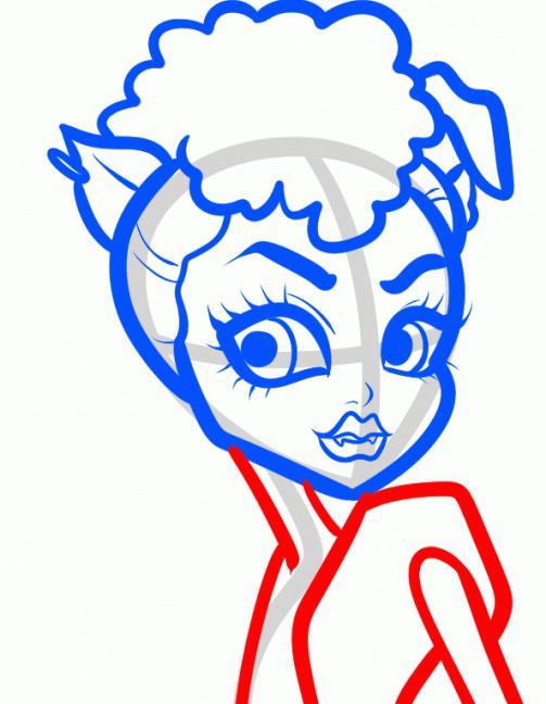 как нарисовать монстра карандашом
