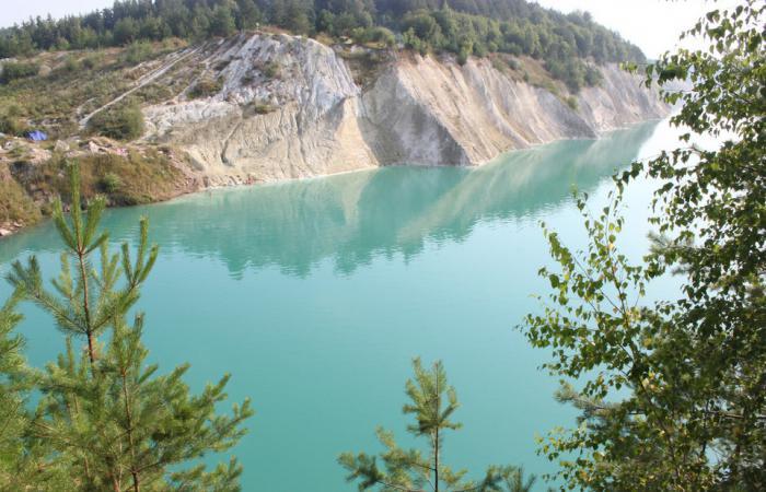 меловые озера в белоруссии
