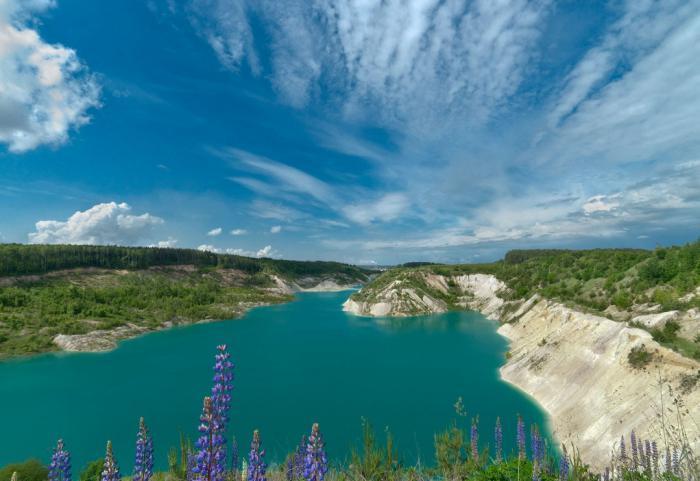 волковыск меловые озера