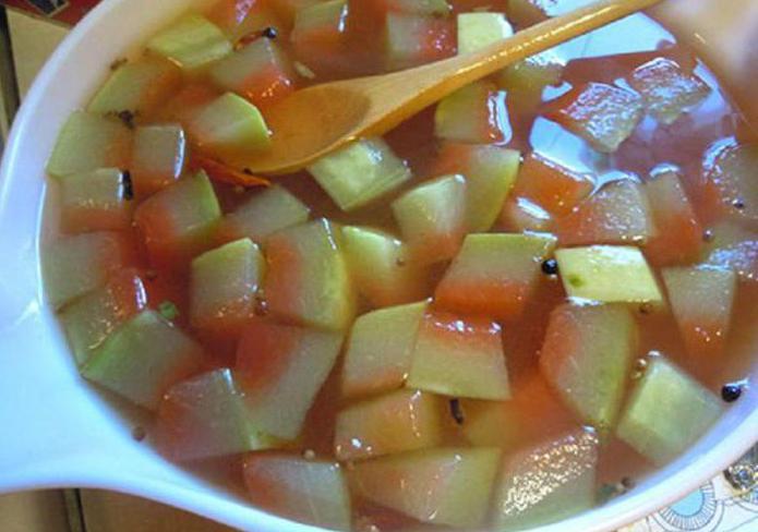 варенье из арбузных корок простой рецепт