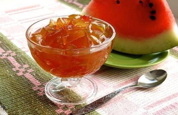 самые простые рецепты варенья из арбузных корок