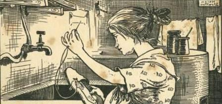 Сказка андерсона штопольная игла