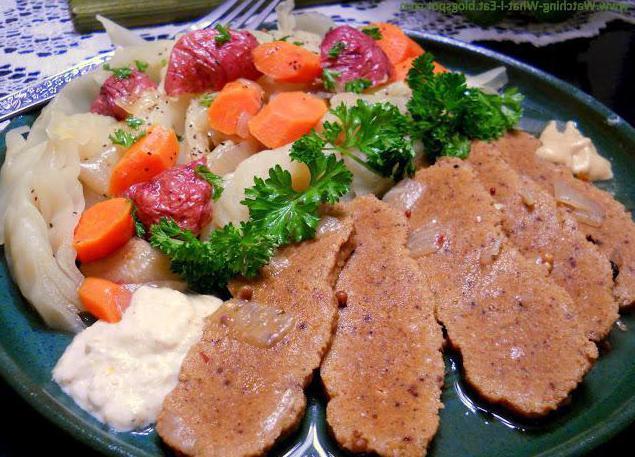 как засолить мясо