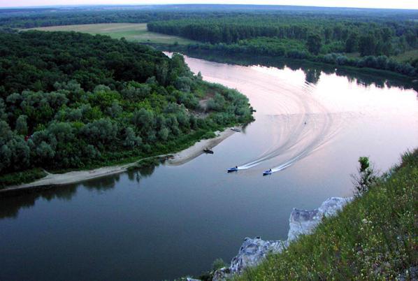 Где находится река дон устье и