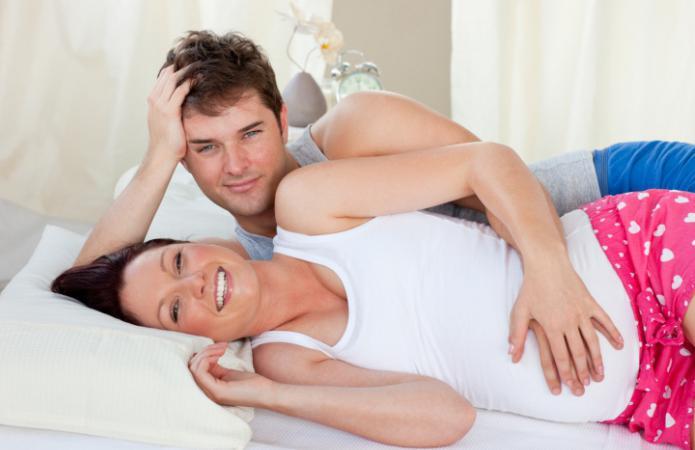 Как ублажить мужа беременной 40
