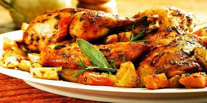 рецепт курицу с овощами в духовке рецепт с фото