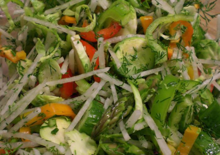 салат дешевый витаминный