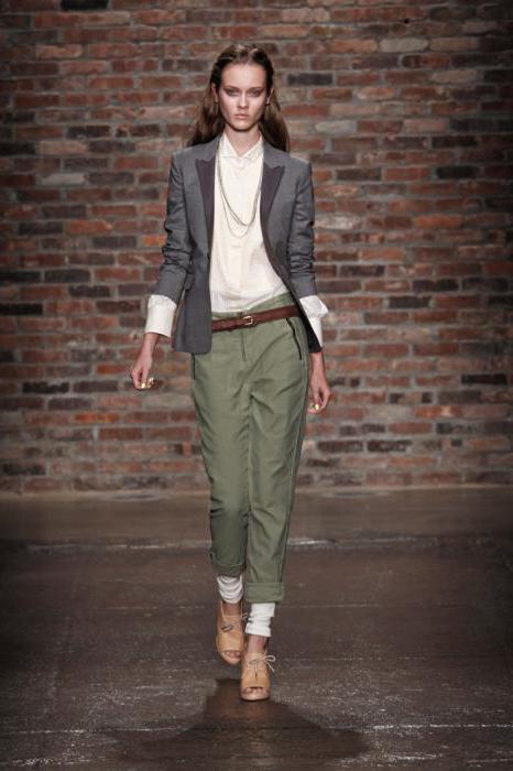 классические брюки зауженные книзу женские