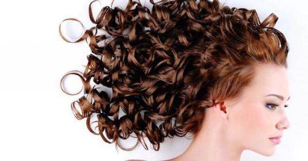 химическая завивка волос локоны