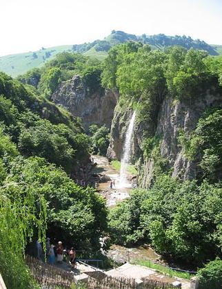 медовые водопады как