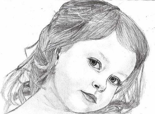 как нарисовать ребенка