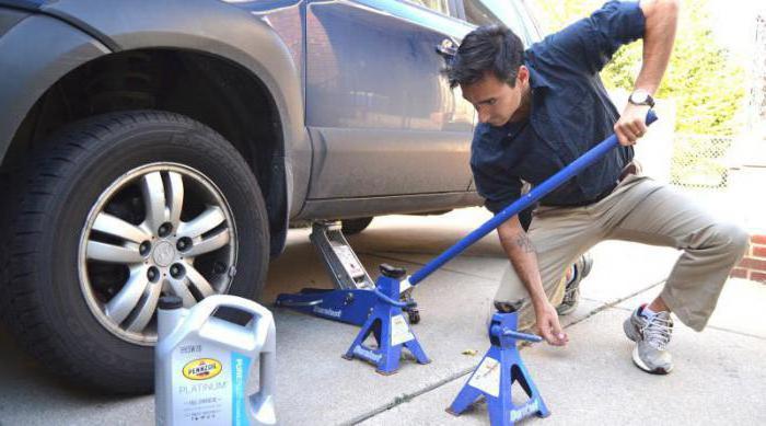 самодельный домкрат для автомобиля