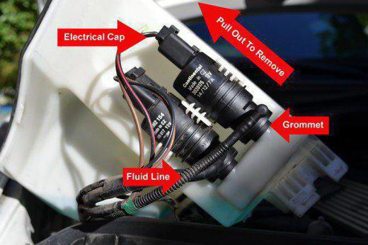 Ремонт мотора стеклоочистителя