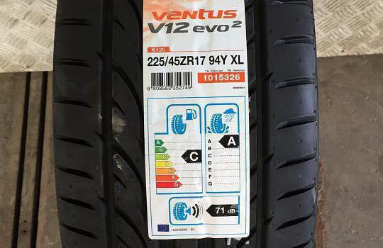 Шины Hankook Ventus V12 evo2 K120: отзывы