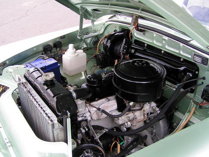 установка другого двигателя на автомобиль газ 69