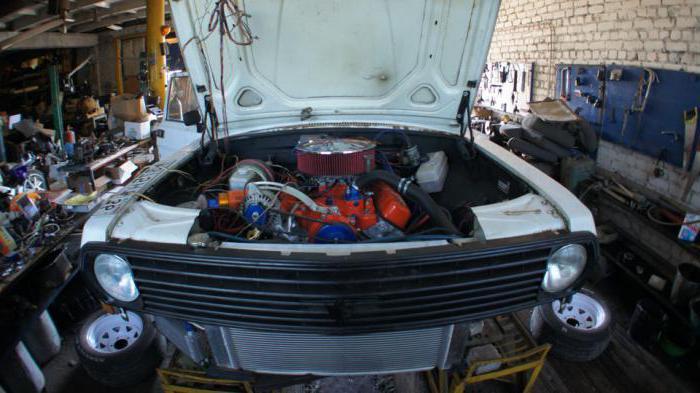 установка другого двигателя на автомобиль волга