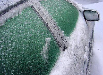 замёрз замок двери в машине