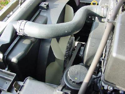 вентилятор охлаждения двигателя ВАЗ-2110