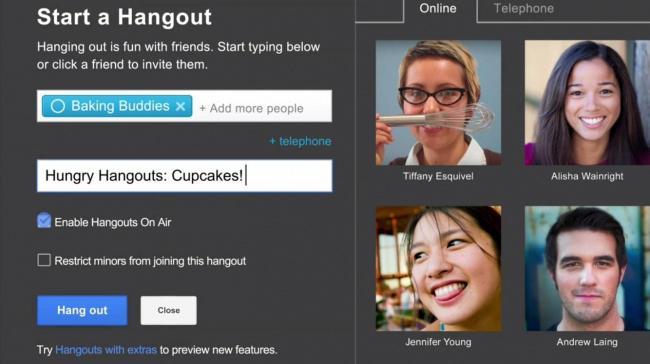 google hangouts что-нибудь это