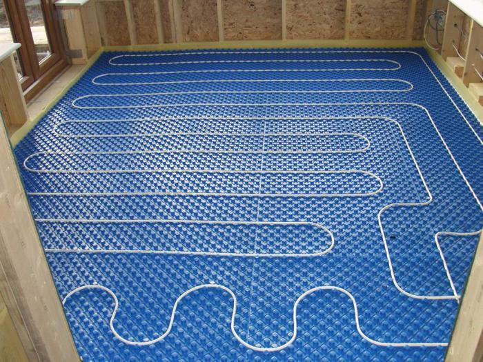 теплоизоляция для теплого пола электрического