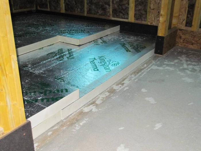 теплоизоляция для деревянного пола