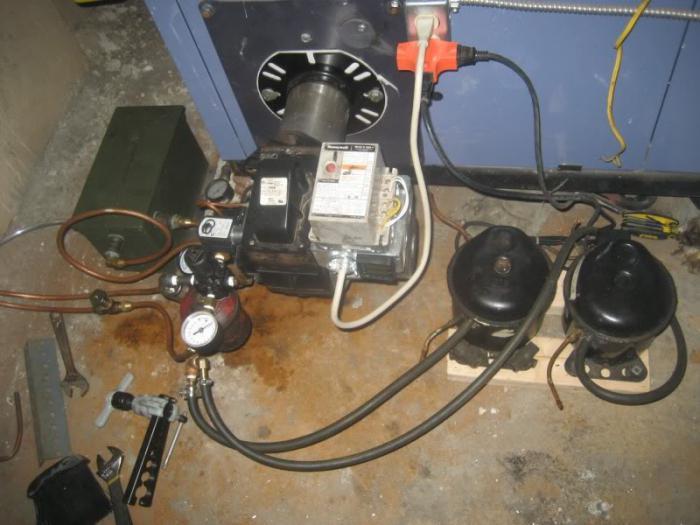 ремонт дизельных горелок