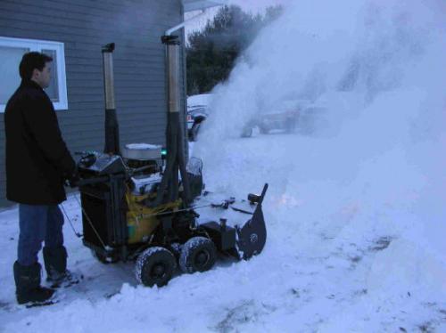 снегоуборочный агрегат своими руками на электроприводе