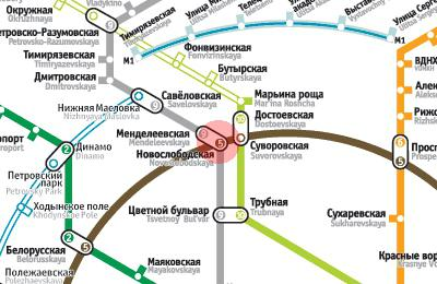 Метро менделеевская от выхино