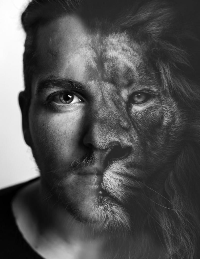 картинки мужчин и зверей главных атрибутов