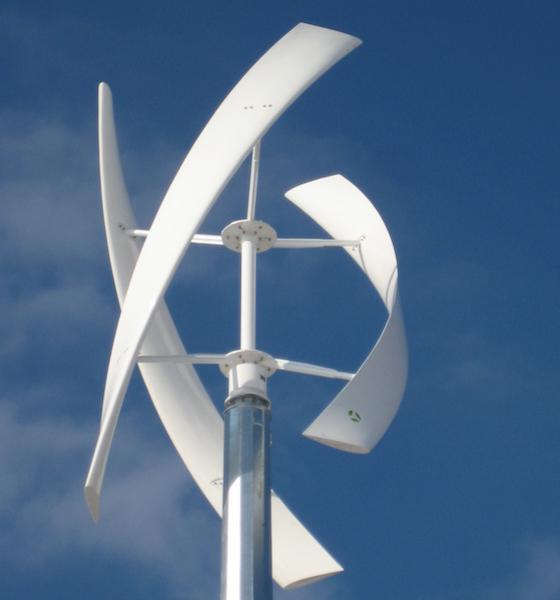 вертикальный ветрогенератор волчок 5 квт