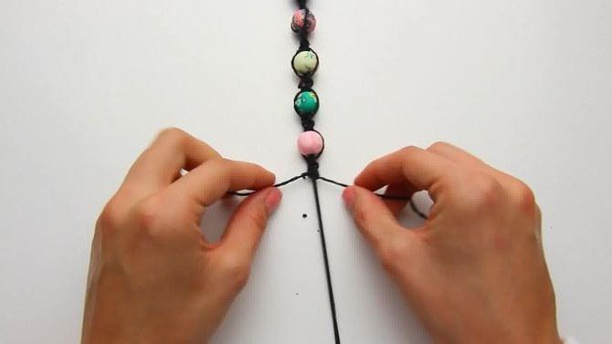 браслеты из натуральных камней своими руками