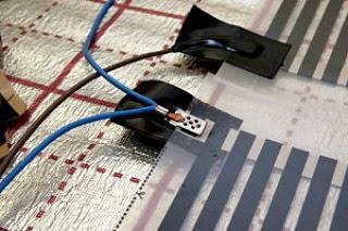 теплый пол электрический под ковер