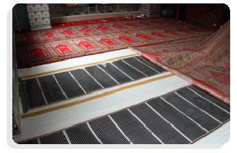 инфракрасный теплый пол под ковер
