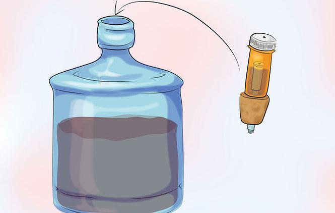 гидрозатвор для бутылей