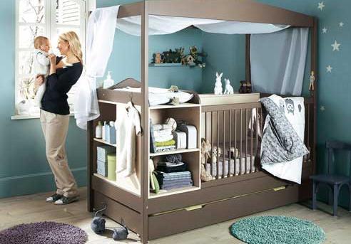 мебель для детской комнаты новорожденного