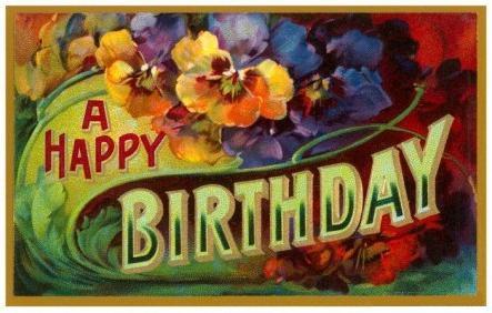 Плакат – подарок на день рождения