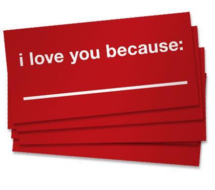 100 «почему я тебя люблю»