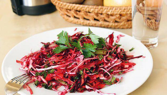 салат щетка для похудения отзывы и результаты