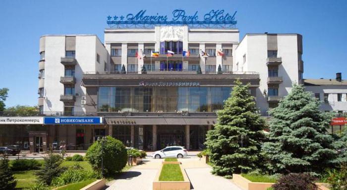 маринс отель парк ростов