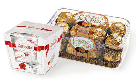 производитель конфет ферреро роше в россии