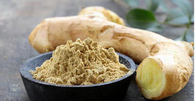Имбирь  полезные свойства и применение корня имбиря вред