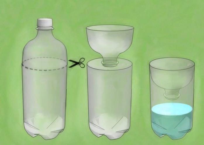 ловушка для тараканов своими руками из бутылки