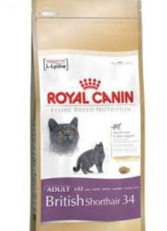 корм для британских короткошерстных кошек