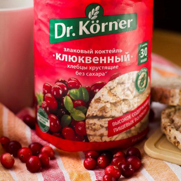 аллергия на хлебцы dr korner