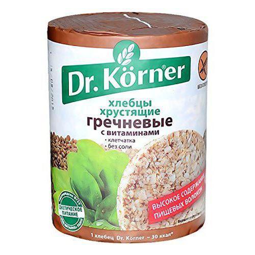хлебцы dr korner отзывы диетологов фото