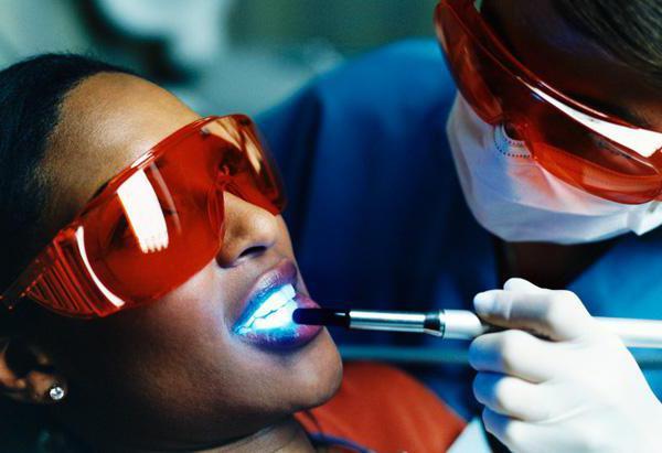 Системы отбеливания зубов с капами
