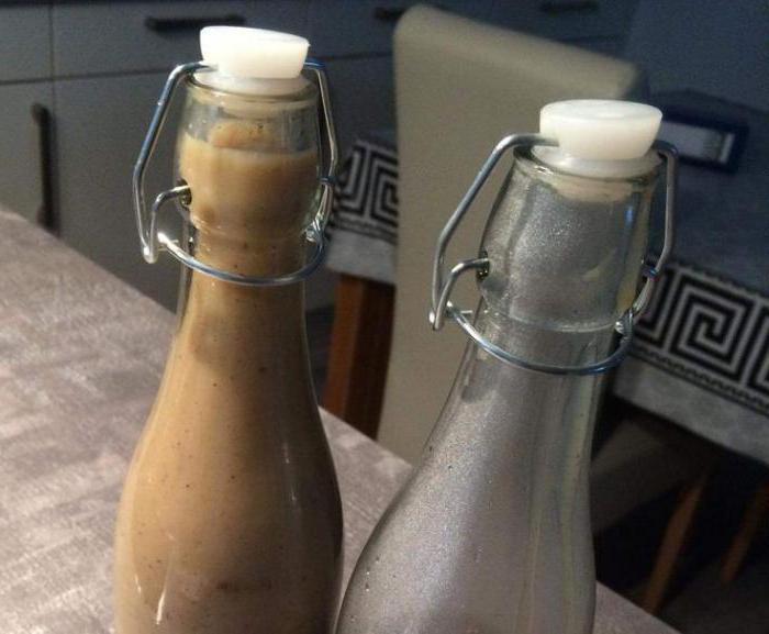 молочный ликер со сгущенкой