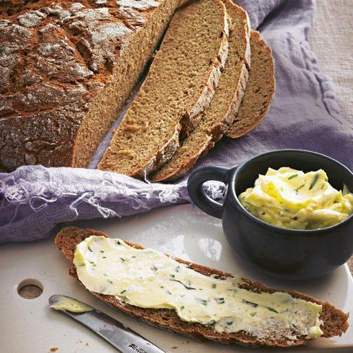 виды круглого хлеба